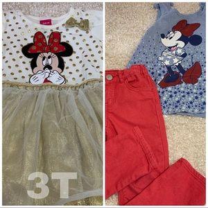 Minnie Mouse 3T Bundle